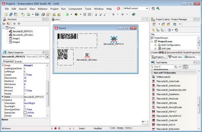 Click to view 2D Barcode VCL Components screenshots